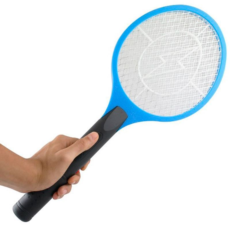 Raquete Elétrica Mata Mosquito Recarregável Bivolt  - Thata Esportes