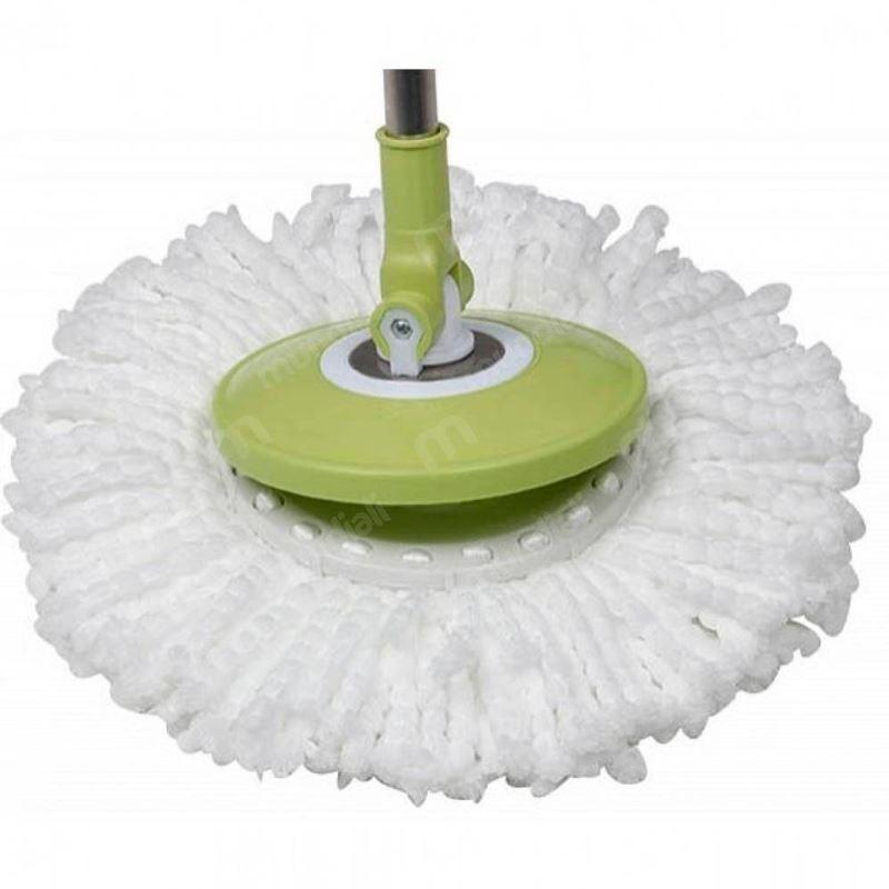 Refil (4 Unidades) Para Esfregão Rodo tipo MOP Limpeza Prática  - Thata Esportes