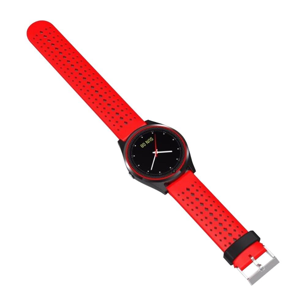 Relógio Inteligente Esportivo V9 380mAh Câmera Pedômetro Mensagens  - Mundo Thata