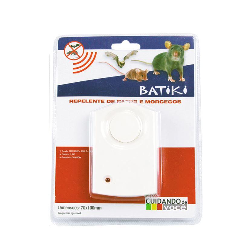 Repelente Eletrônico Para Ratos e Morcegos Batiki  - Mundo Thata