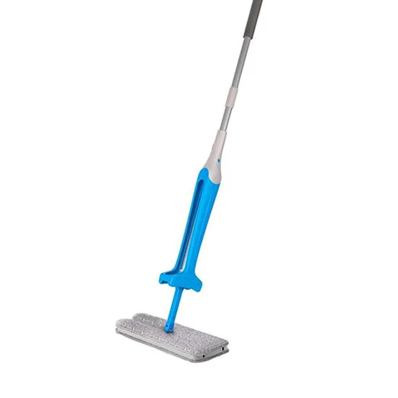 Rodo Mágico Mop Esfregão Retrátil Limpeza Microfibra Auto-Limpante  - Mundo Thata