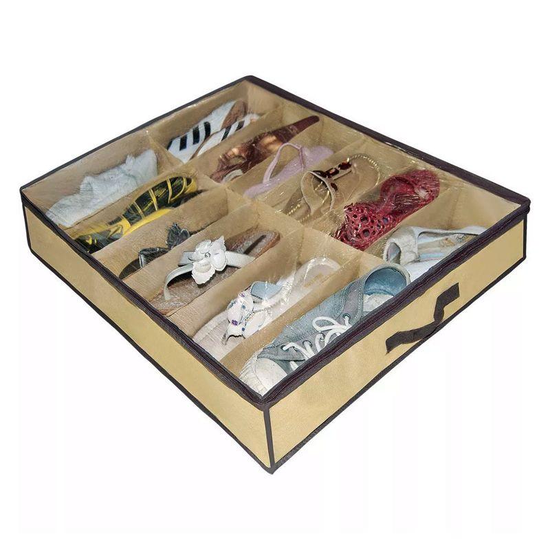 Sapateira Flexivel Organizadora De Sapatos 12 Pares   - Thata Esportes