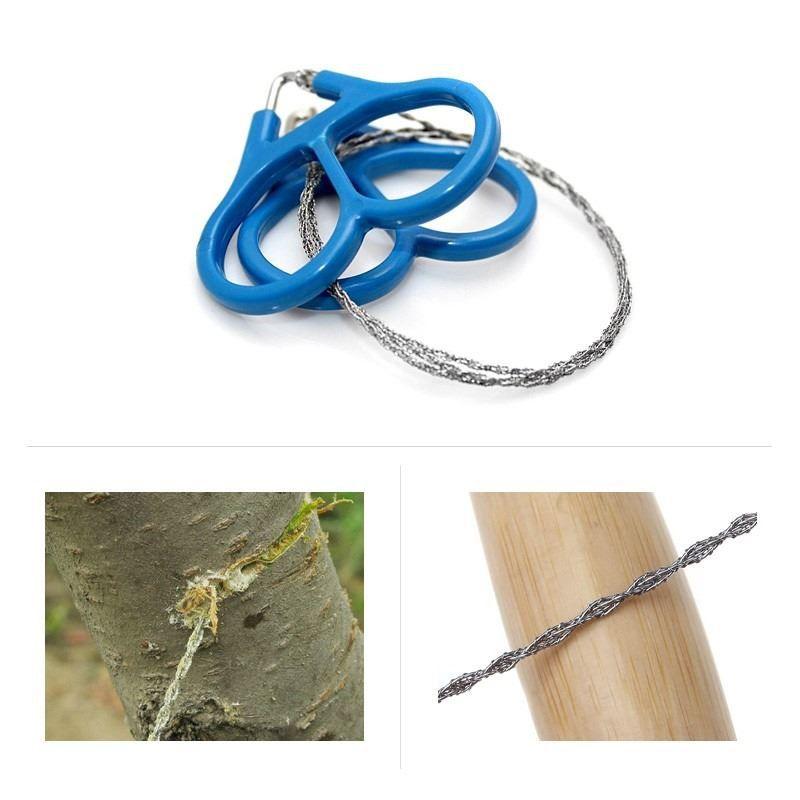 Serra Portátil Arame Fio Serrote Wire Saw  - Thata Esportes