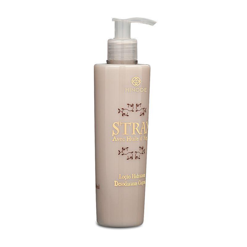 Strax Loção Hidratante Desodorante Corporal Hinode 240 ml  - Thata Esportes