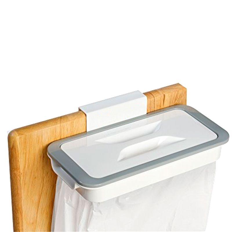 Suporte para Saco de Lixo Lixeira Attach-a-Trash Cozinha   - Thata Esportes