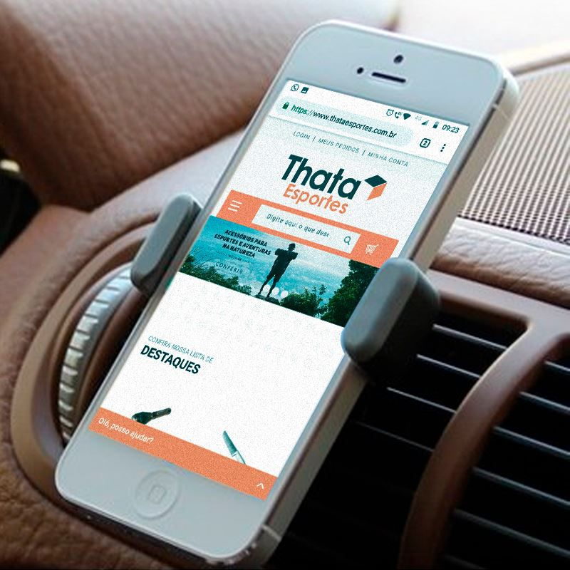 Suporte Universal Veicular Celular GPS  - Thata Esportes