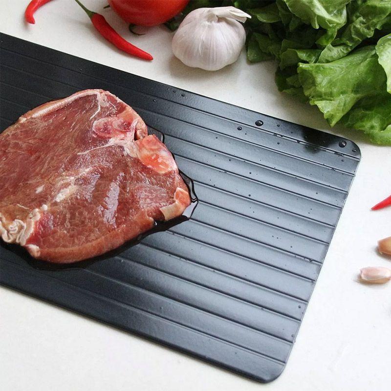 Tábua Mágica Descongelante Descongela Alimentos Carnes Frango Defrost Express  - Thata Esportes