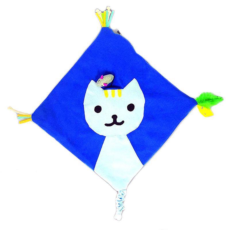Tapete Brinquedo Gatos Camundongo de Plástico 4 Atividades Faz Sons Quando Pisado  - Mundo Thata