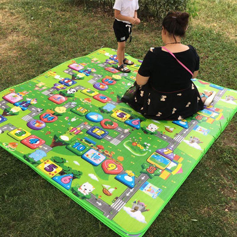 Tapete Esteira Infantil Educativo Criança Bebê Jogo da Vida  - Thata Esportes