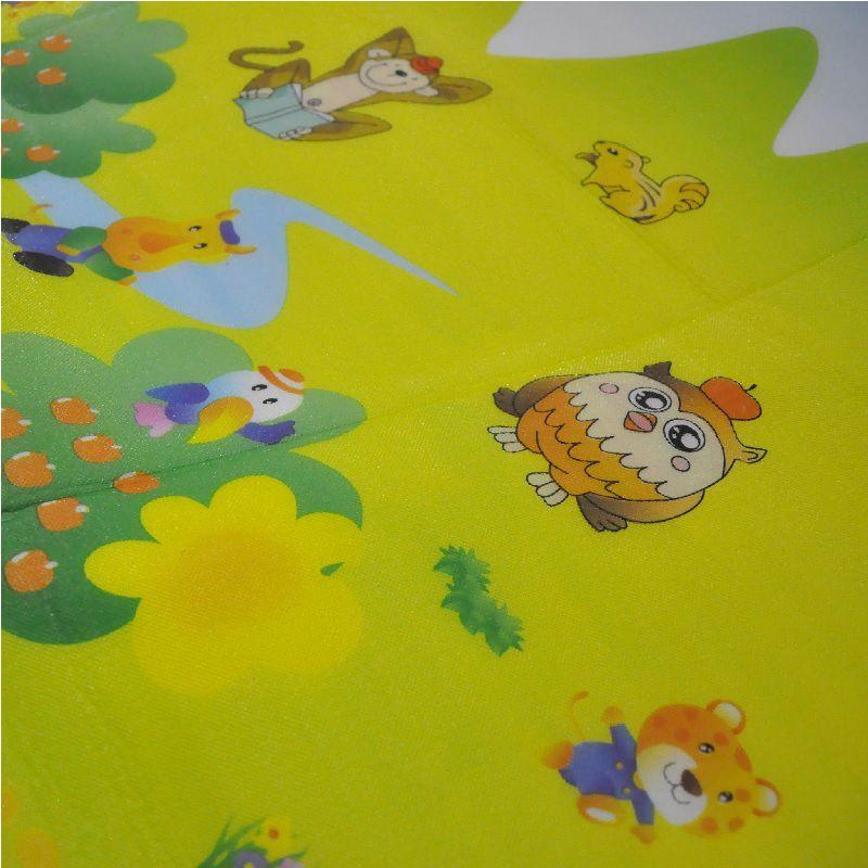 Tapete Infantil Portátil Para Bebê Alfabeto 180 cm x 150 cm   - Thata Esportes