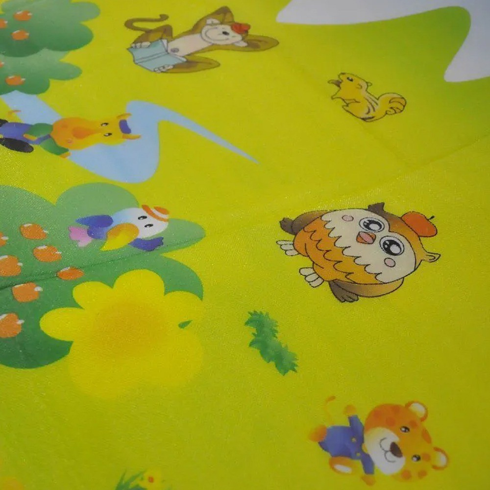 Tapete Infantil Portátil Para Bebê Alfabeto 180 cm x 150 cm   - Mundo Thata