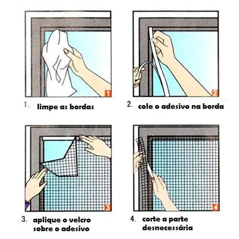 Tela Anti Mosquito Insetos para Janelas  - Thata Esportes