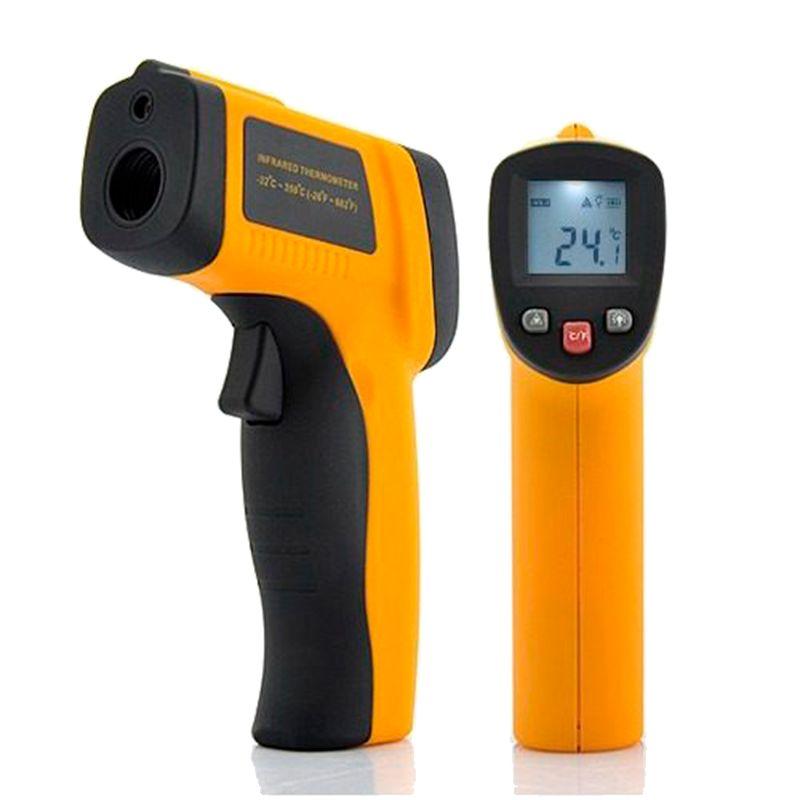 Termômetro Digital Infravermelho com Mira Laser  - Thata Esportes