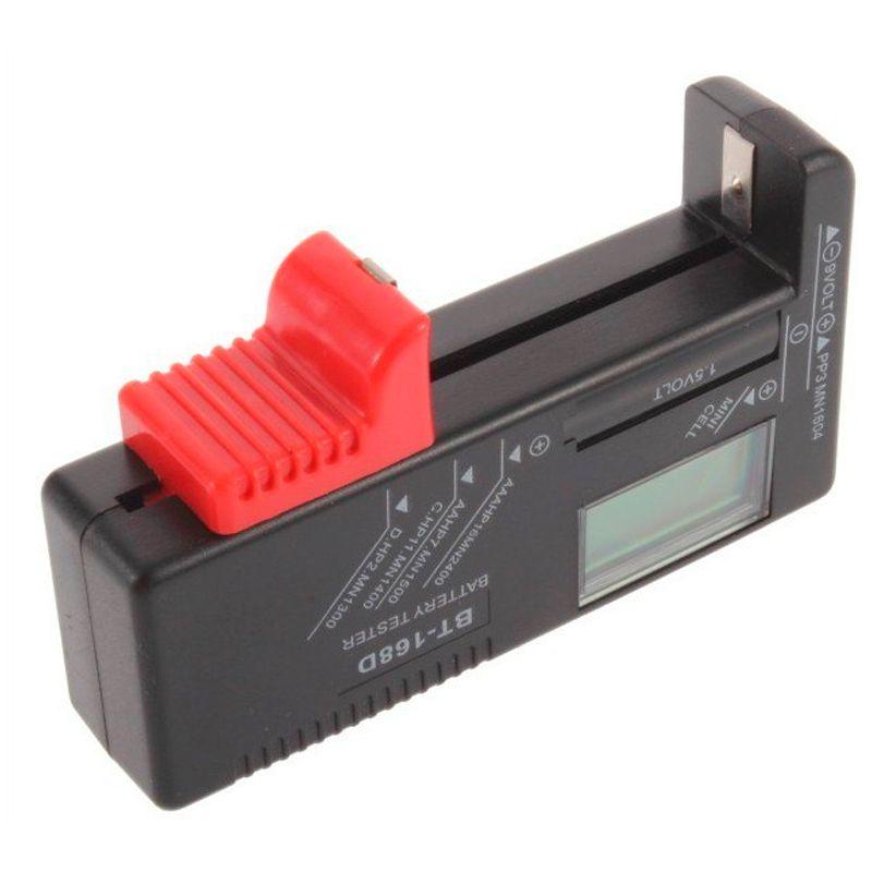 Testador Medidor de Carga Pilhas e Baterias Digital Universal AA AAA  - Mundo Thata