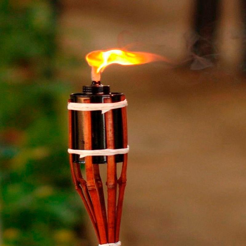 Tocha Bambu para Iluminação  - Thata Esportes