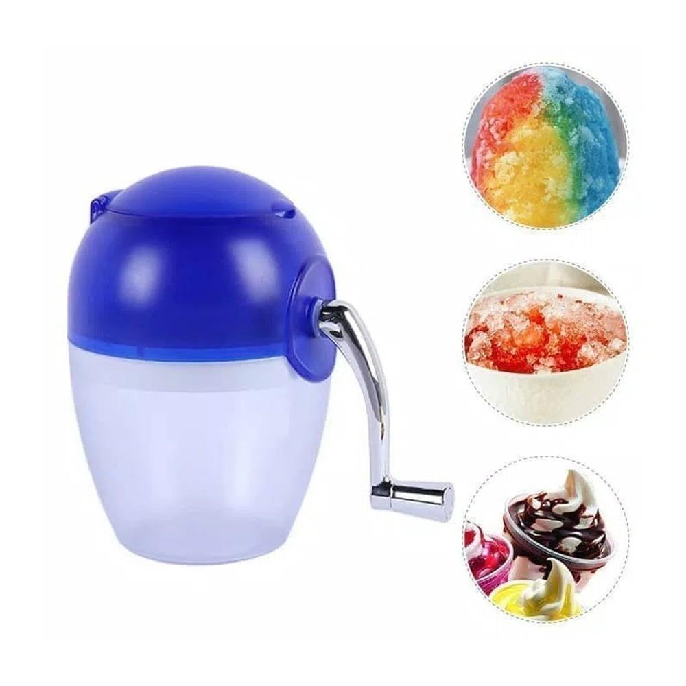 Triturador de Gelo Frutas Multi Funções Manual para Casa Portátil  - Thata Esportes