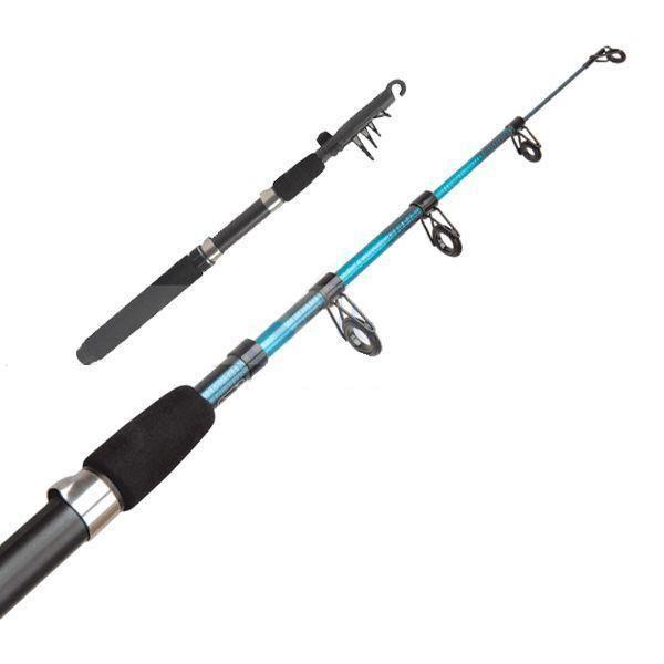 Vara Retrátil de Molinete para Pesca 3 Tamanhos  - Thata Esportes