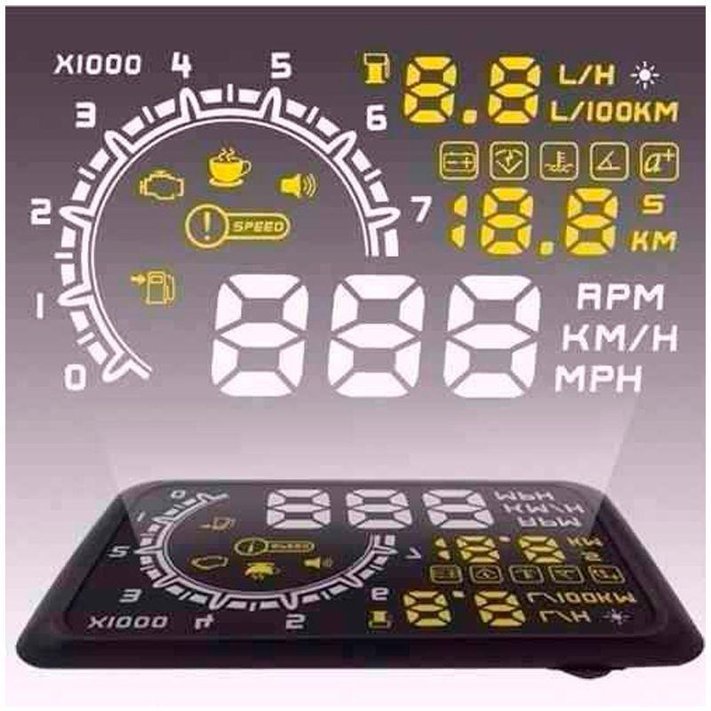 Velocímetro Digital para Para- Brisas  - Mundo Thata