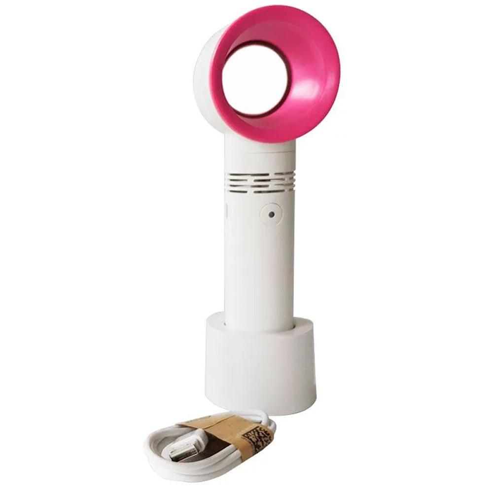 Ventilador Sem Hélice Portátil Recarregável 3 Velocidades  - Mundo Thata