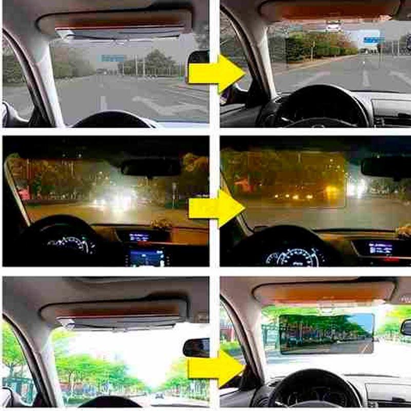 Visor Quebra Sol Dia E Noite Carro Caminhão Táxi HD Vision  - Thata Esportes