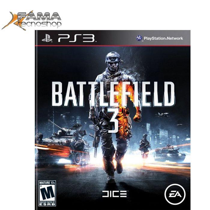 GAME BATTLEFIELD 3 PS3  - FAMATECNOSHOP