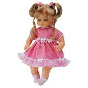 Boneca Anjos Baby Loira Fala Mais de 50 Frases Anjo - Ref 769