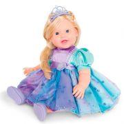 Boneca Charmosa Princesa Loira com Articulação Cotiplas 2042