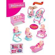 Boneca Mini Miudinhas Casinha Diver Toys - 675