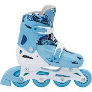 Patins In-Line Roller Kids Ajustável Azul – Tamanho M (32 a 35) – Bel Sports 367800
