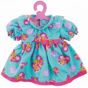 Roupinhas Boneca Baby Alive - Vestido com Borboletas - Cotiplas 2107