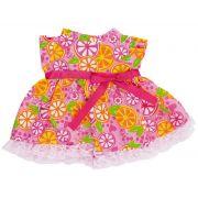 Roupinhas Boneca Baby Alive - Vestido com Laranjas - Cotiplas 2104