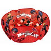 Piscina de Bolinhas Miraculous Ladybug com 100 Bolinhas Zippy Toys