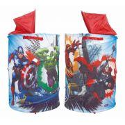 Porta Brinquedos Objetos Portátil Avengers Vingadores Zippy Toys