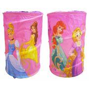 Porta Brinquedos Objetos Portátil Princesas Disney Zippy Toys