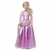 Boneca Stephany Sonhos de Princesas Rapunzel 78cm Baby Brink - 1946