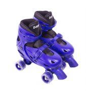 Patins Clássico Ajustável Azul - Tamanho M (33 ao 36) - Bel Sports