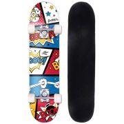 Skate Radical Iniciante Boom Skateboard Bel Sports - 401900
