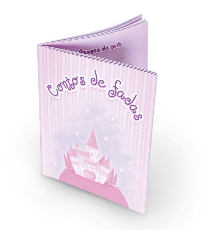 Boneca Historias Encantadas Conta 6 Historias Cotiplas - Ref 1801  - FAMATECNOSHOP