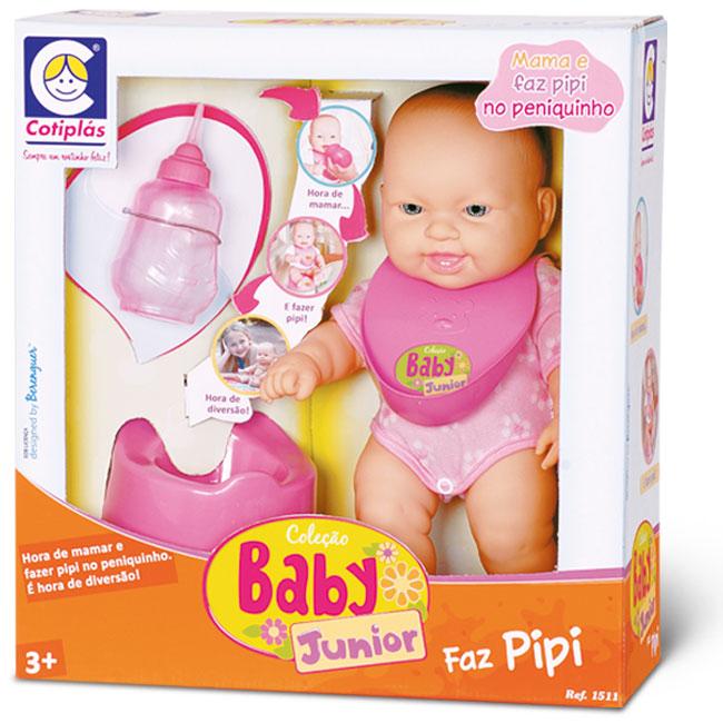 Coleção Baby Junior Faz Pipi Cotiplas - Ref 1685  - FAMATECNOSHOP