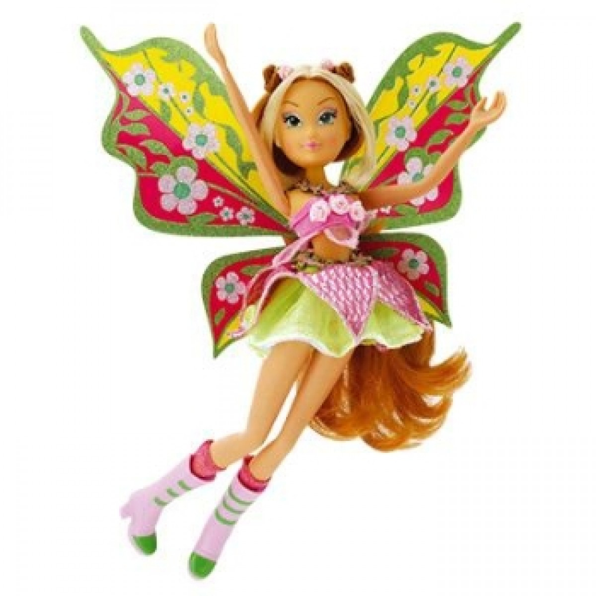 Winx Believix Magical Hair Fairy Cotiplas Flora - Ref 1961  - FAMATECNOSHOP