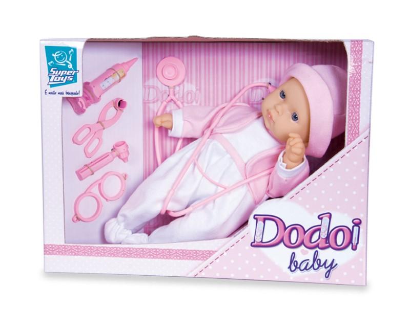 Boneca Dodoi Baby Super Toys 177  - FAMATECNOSHOP