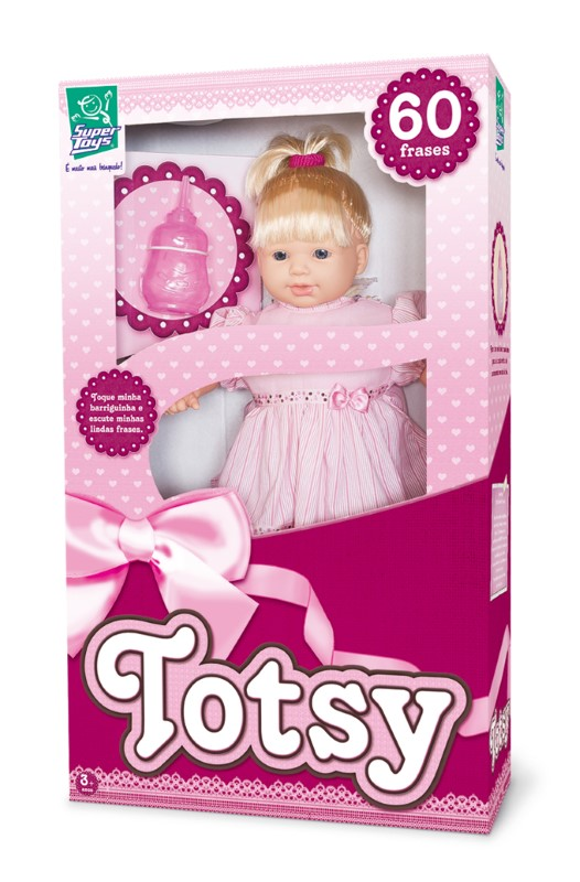 Boneca Totsy 60 Frases Super Toys 027  - FAMATECNOSHOP