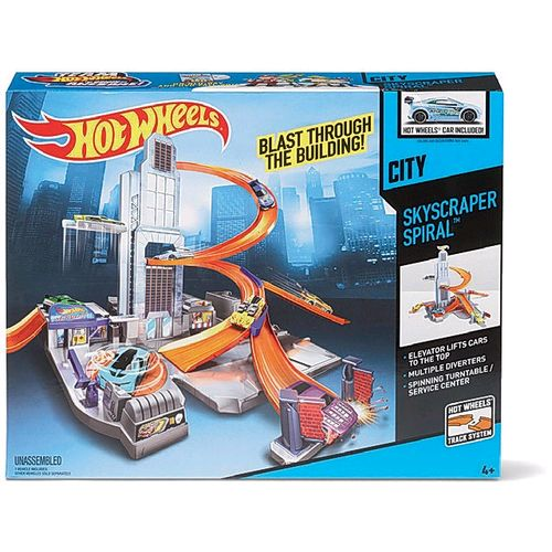Hot Wheels Desafio na Torre - BHR00  - FAMATECNOSHOP