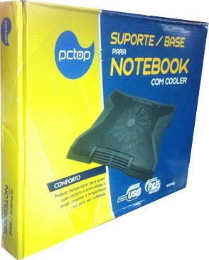 BASE DE COOLER P/ NOTEBOOK SNPR01 PCTOP  - FAMATECNOSHOP