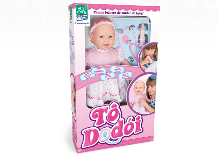 Boneca Tô Dodói Super Toys - Ref 211  - FAMATECNOSHOP