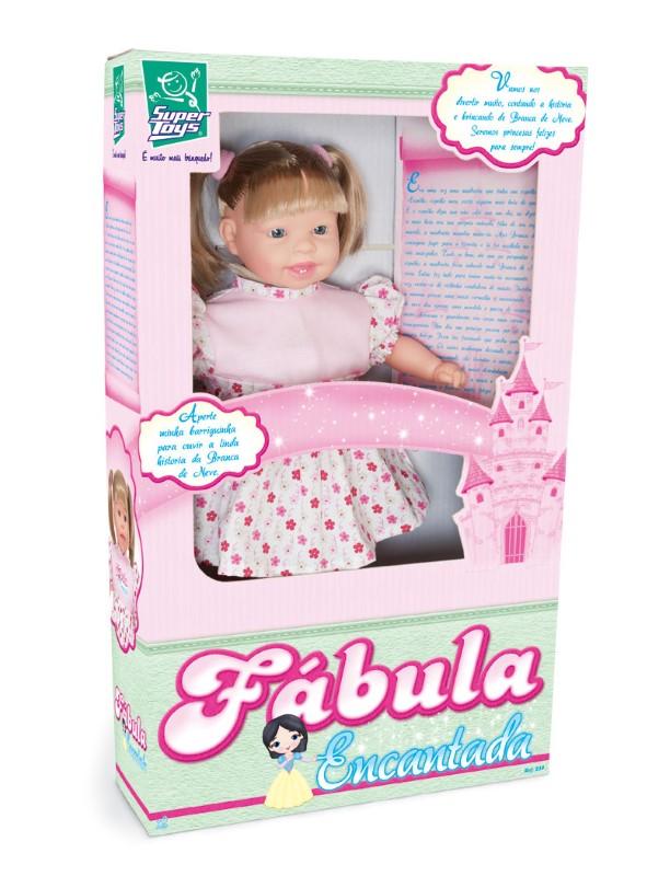 Boneca Fábula Encantada Super Toys 219  - FAMATECNOSHOP