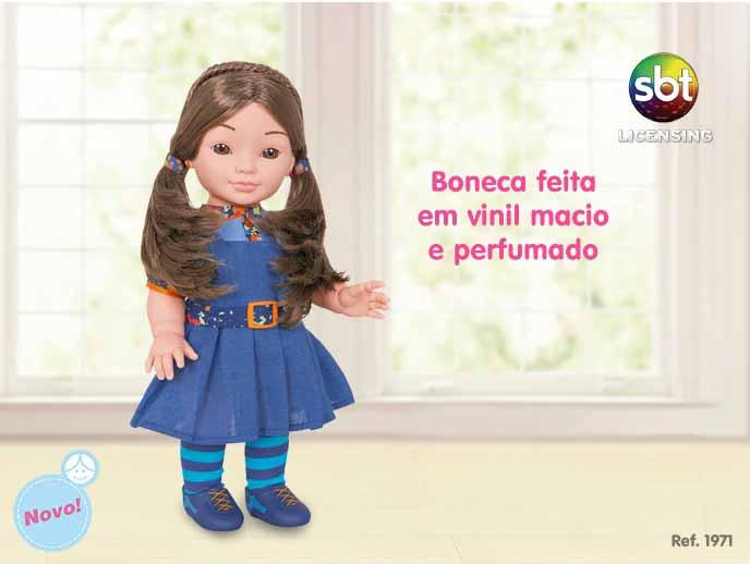 Boneca Chiquititas Mili Cotiplas - Ref 1971  - FAMATECNOSHOP
