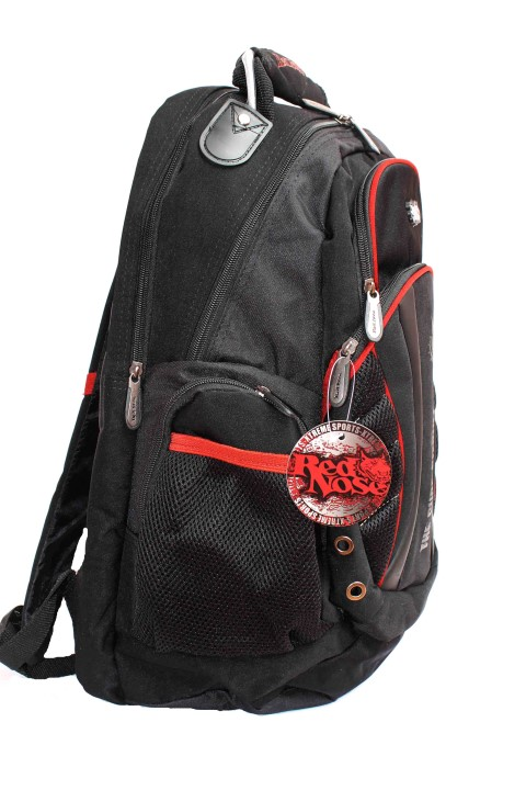 Mochila Esportiva p/ Notebook Luxcel RED NOSE Preta - MJ48082RN  - FAMATECNOSHOP