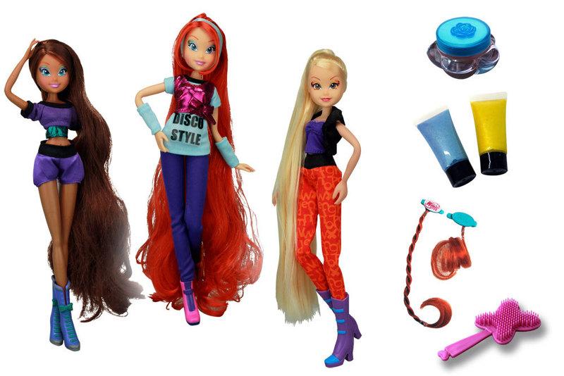 Winx Magical Hair Cotiplas Layla / Aisha - Ref 1964  - FAMATECNOSHOP