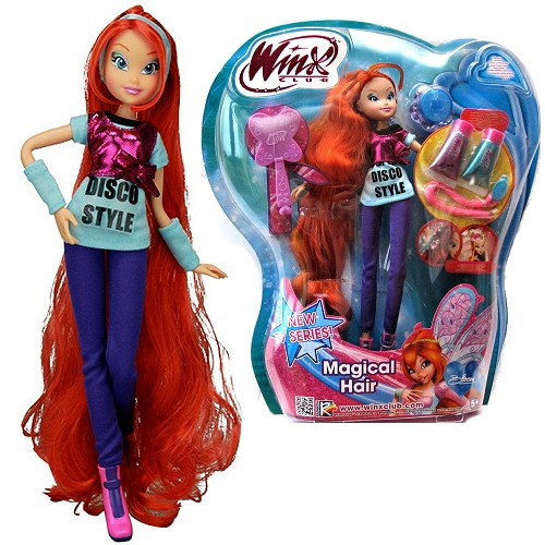 Winx Magical Hair Cotiplas Bloom - Ref 1964  - FAMATECNOSHOP